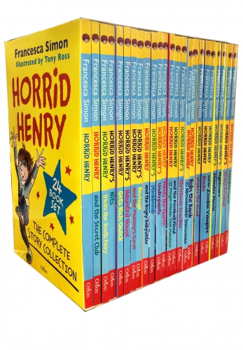 Horrid Henry The Complete Story Collection 24 Books Box Set by Francesca Simon