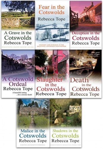The Cotswold Mysteries Collection Rebecca Tope 8 Books Set by Rebecca Tope