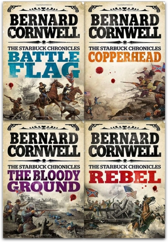 Starbuck Chronicles Collection Bernard Cornwell 4 Books Set by Bernard Cornwell