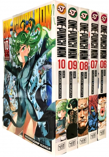 One-Punch Man Volume 6-10 Collection 5 Books Set (Series 2) by ONE (Author), Yusuke Murata (Illustrator)