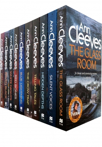 Ann Cleeves TV Shetland & Vera Series Collection 10 Books Set by Ann Cleeves