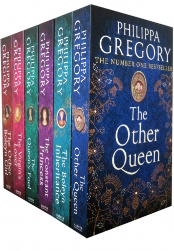 Philippa Gregory Tudor Court Novels 6 Books Collection Set by Philippa Gregory