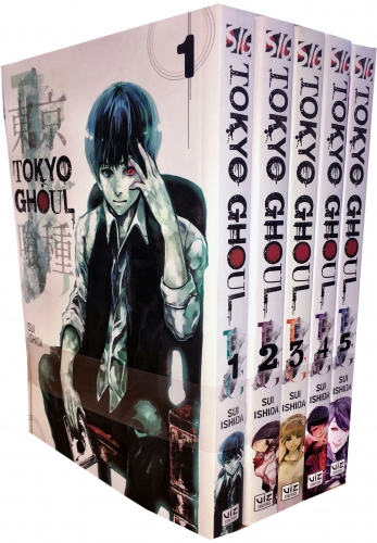 Tokyo Ghoul Volume 1-5 Collection 5 Books - 9789526511405, 978-9526511405
