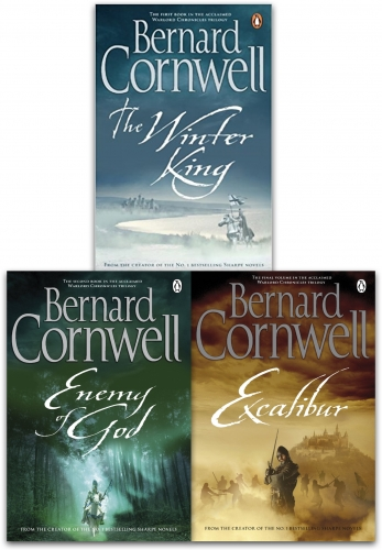 Bernard Cornwell Warlord Chronicles Collection 3 Books Set (The Winter King, Excalibur and  Enemy of God) by Bernard Cornwell