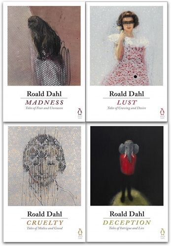 Roald Dahl 4 Books Collection Set (Deception, Madness, Cruelty, Lust) by Roald Dahl