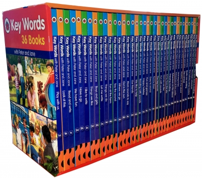 Ladybird Key Words Collection 36 Books Box Set by William Murray, Ladybird