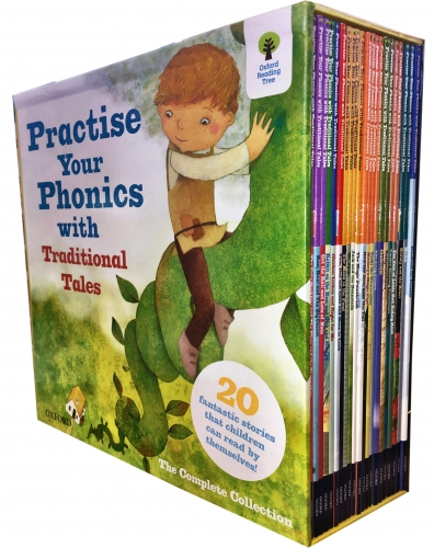 Oxford Reading Tree Practise Your Phonics with Traditional Tales Collection 21 Books Set by Various