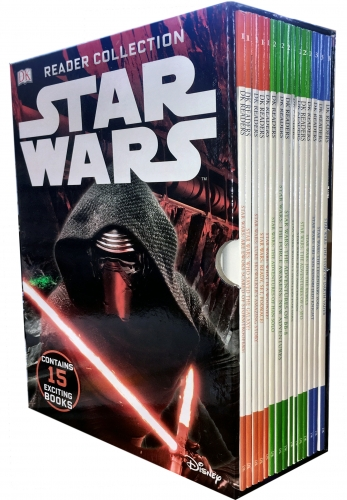 Star Wars Readers Collection 15 Books Box Set by DK
