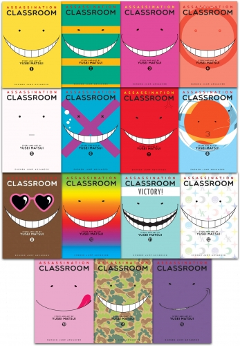 Assassination Classroom Yusei Matsui Volume 1-15 Collection 15 Books Set by Yusei Matsui