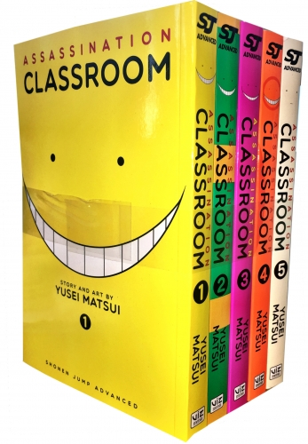 Assassination Classroom Yusei Matsui Volume 1-5 Collection 5 Books Set (Series 1) by Yusei Matsui