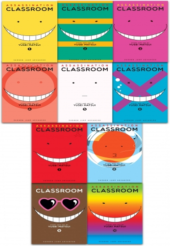 Assassination Classroom Yusei Matsui Volume 1-10 Collection 10 Books Set by Yusei Matsui
