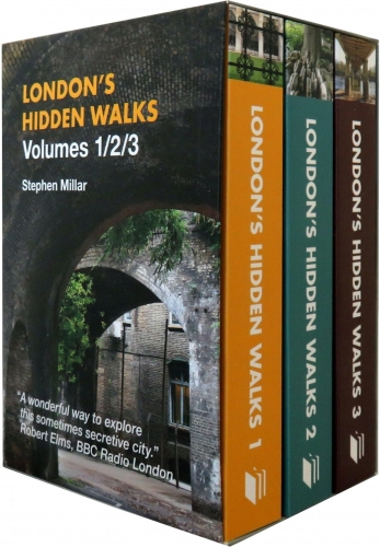 London Hidden Walks (Volumes 1-3) 3 Books Box Set by Stephen Millar