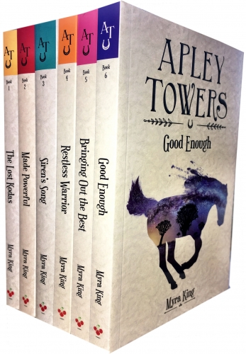 Apley Towers 6 Books Collection Set by Myra King (Books 1-6) by Myra King (Author), Subrata Mahajan (Illustrator)