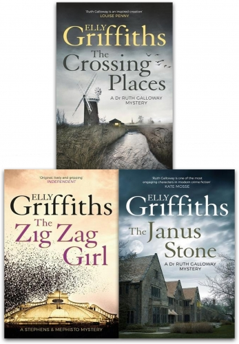 Elly Griffiths 3 Books Collection Set by Elly Griffiths