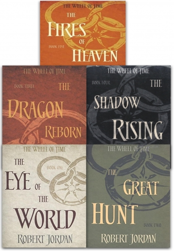 Robert Jordan The Wheel of Time Collection 5 Books Set Series 1 by Robert Jordan