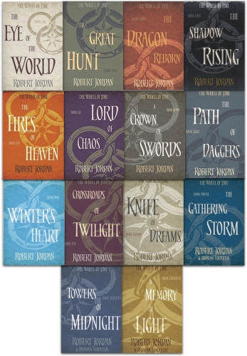 Robert Jordan The Wheel of Time Series Collection 14 Books - 9789526529455, 978-9526529455