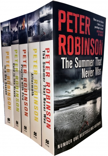 Peter Robinson The Inspector Banks Series 5 Books Collection - 9789526513195, 978-9526513195