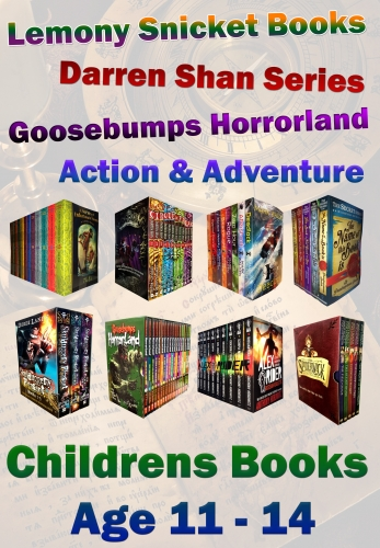 Snazal Books, Age 11, - Age 14, (books for 11 - 14 year old, Darren Shan, Goosebumps, Alex Rier, Time Riders) by Books Age 11-14