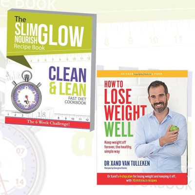 How To Lose Weight Well and Clean and Lean Fast Diet Cookbook 2 Books Collection Set by Dr Xand Van Tulleken