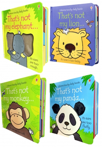 Usborne Thats Not My Animals Collection 4 Books - 9781474940900, 978-1474940900