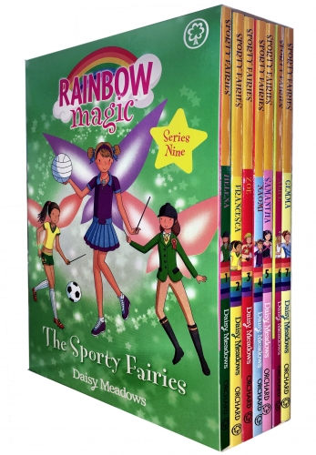 Rainbow Magic Series 9 The Sporty Fairies Collection 7 Books Box Set Books 57-63 by Daisy Meadows
