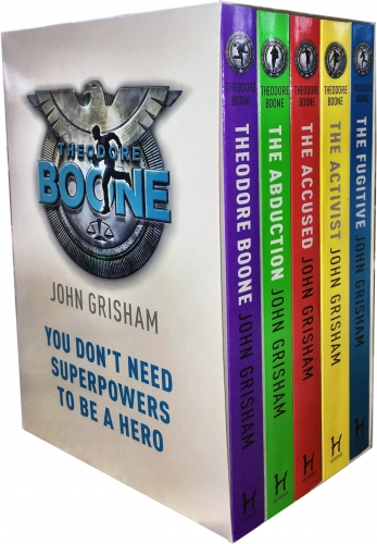 John Grisham Theodore Boone Series Collection 5 Books Box  Set by John Grisham