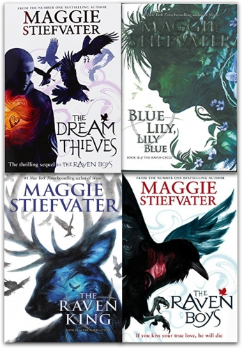 The Raven Cycle Series Maggie Stiefvater Collection 4 Books - 9789123472994, 978-9123472994