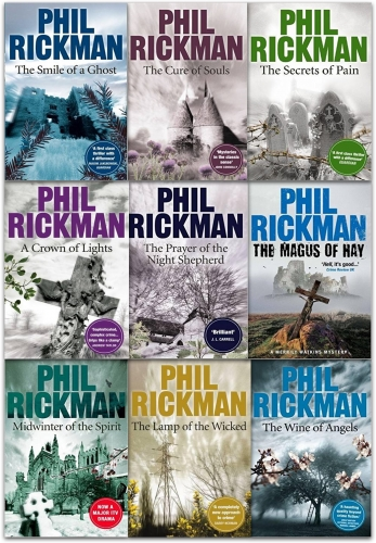 Phil Rickman Merrily Watkins Series 9 Books - 9789526529769, 978-9526529769