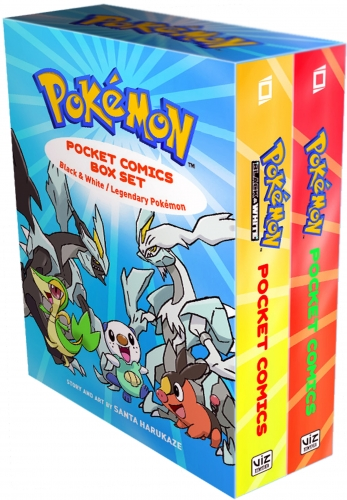 Pokemon Pocket Comics Collection 2 Books Box Set by Santa Harukaze by Santa Harukaze
