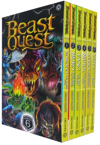 Beast Quest Series 6 The World of Chaos 6 Books Collection Box Set (Books 31-36) by Adam Blade by Adam Blade