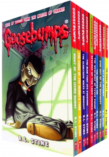 Goosebumps Horrorland Series 10 Books Collection Set by R L Stine  Classic Covers Set 1 by R.L.Stine