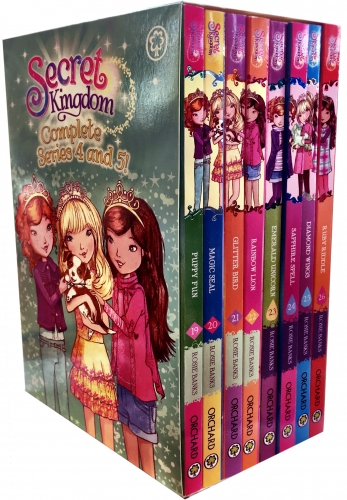 Secret Kingdom Series 4 and 5 Collection Rosie Banks 8 Books Box Set Book 19-26 by Rosie Banks