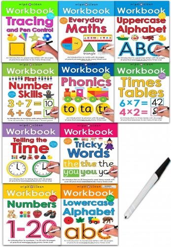 Wipe-Clean Workbook Collection - 9781783414567, 978-1783414567