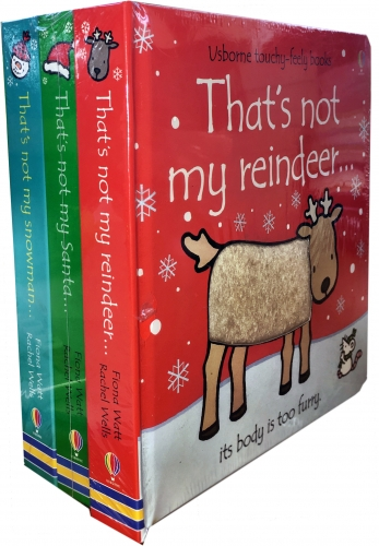 Thats Not My Christmas Collection 3 Books - 9781474942461, 978-1474942461