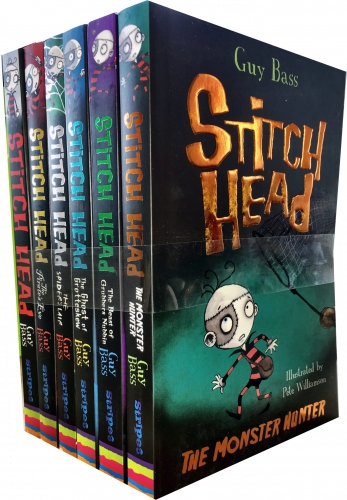 Stitch Head Collection Guy Bass 6 Books - 9789123473076, 978-9123473076