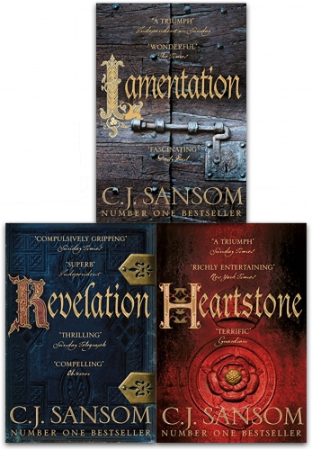 The Shardlake Series Collection 3 Books - 9789526529998, 978-9526529998