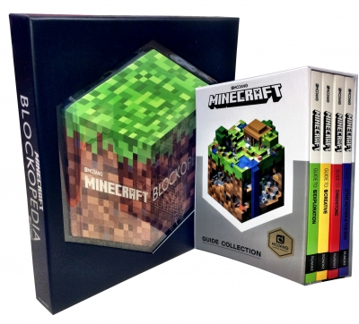 Minecraft Collection 5 Books Set  (Minecraft Guide Book, Minecraft Blockopedia) by Mojang