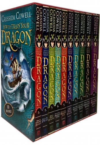 How to Train Your Dragon 10 Books - 9781444941944, 978-1444941944
