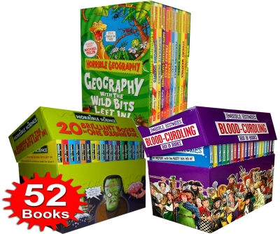 Horrible Collection 52 Books Box Set - 9789526522784, 978-9526522784