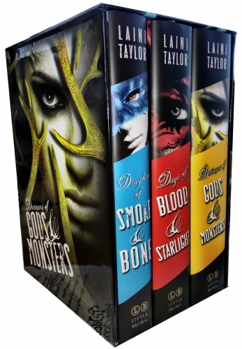 The Daughters of Smoke and Bone Trilogy 3 Collection Books Set (Paperback) by Laini Taylor