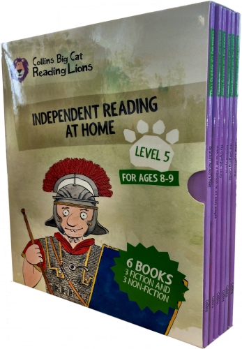 Big Cat Reading Lions Level 5 Independent Reading at Home 6 Books Collection Box Set by Collins UK