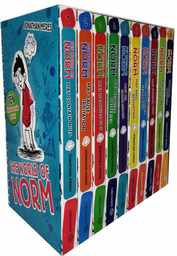 The World of Norm Collection Jonathan Meres 10 Books - 9781408355459, 978-1408355459