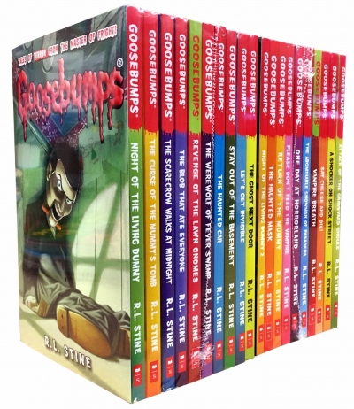 The Goosebumps Horrorland Collection 20 Books - 9781407172378, 978-1407172378