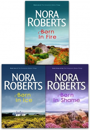 Nora Roberts Concannon Sisters Trilogy 3 Books Collection Set by Nora Roberts