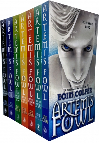 Artemis Fowl Collection Eoin Colfer 7 Books Set by Eoin Colfer