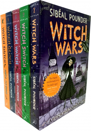The Witch Wars Series Collection 5 Books Set by Sibeal Pounder by Sibeal Pounder