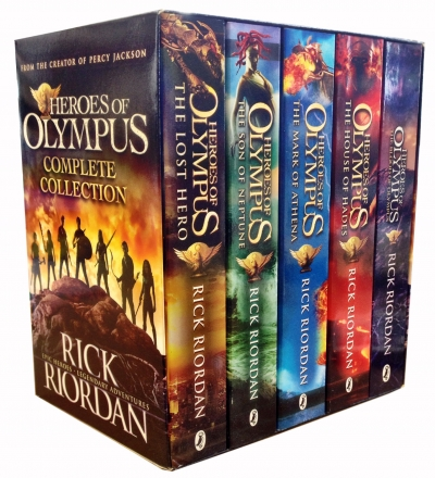 Heroes of Olympus Complete Collection 5 Books - 9780141364131, 978-0141364131