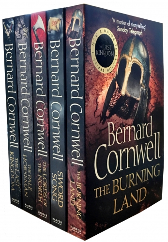 Bernard Cornwell Warrior Chronicles, The Last Kingdom Series 1 Books Set Collection Pack by Bernard Cornwell