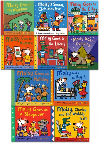 Maisy Mouse First Experiences 10 Books Collection Set in a Zip Lock Bag by Lucy Cousins by Lucy Cousins