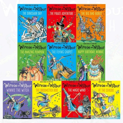 Winnie and Wilbur Collection 10 Books Set By Valerie Thomas - 9780192767011, 978-0192767011